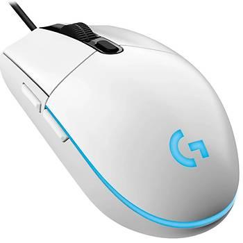 Logitech G203 LIGHTSYNC IÞIKLI Kablolu Beyaz Mouse 910-005797