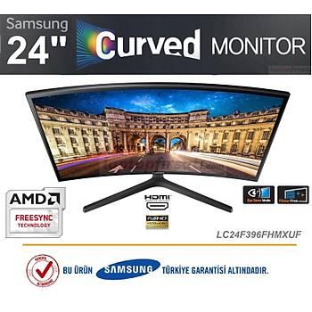SAMSUNG LC24F396FHMXUF CURVED 23.5'' HDMI+VGA FHD FreeSync Curved Oyuncu Monitörü