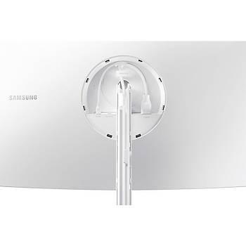 "Samsung QHD QLED LC32H711QEMXUF 31.5"" 4ms HDMI+mDP FreeSync Curved Monitör"