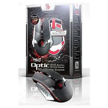 Bloody T50 Optik Multi Core Metal Ayak 4000CPI Mou