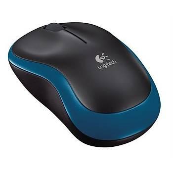 Logitech® M185 Nano Optik Kablosuz Mouse Mavi 910-002236