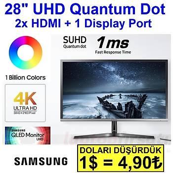 SAMSUNG UHD 28'' LU28H750UQMXUF 2xHDMI,DP,QLED