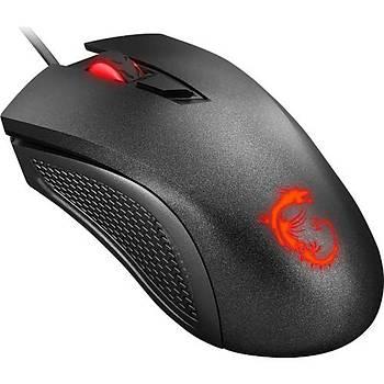 ????MSI Clutch GM10 2400 DPI 1ms LED Iþýklý Oyuncu Mouse