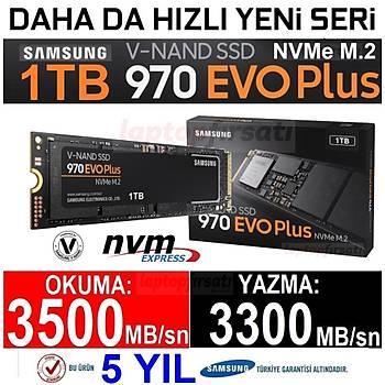 Samsung 1TB 970 Evo Plus NVME M.2 SSD 3500/3300MB/S MZ-V7S1T0BW