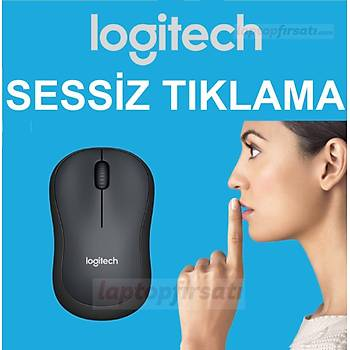 LOGITECH M220 Sessiz Týklama Kablosuz Mouse Siyah 910-004878