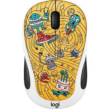 ????Logitech M238 Kablosuz Mouse The Doodle Collection 910-005056