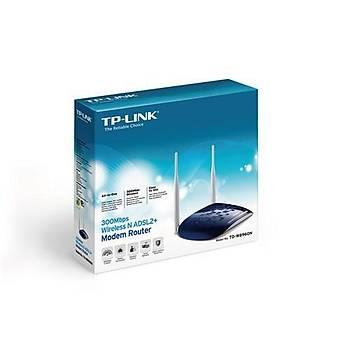 TP-Link TD-W8960N 300Mbps ADSL2 + Modem/Router,EWAN,VPN, 2x5DBi
