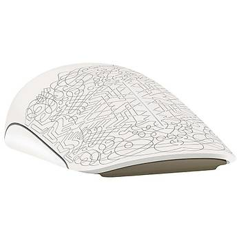 Microsoft Touch Beyaz Kablosuz Mouse 3KJ-00014