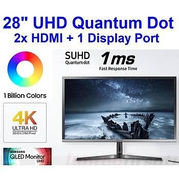 Samsung UHD LU28H750UQMXUF 27.9