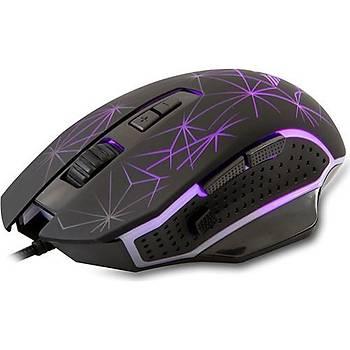 Everest SM-G21 Usb 4800 Dpi 4Renk Aydýnlatma Mouse