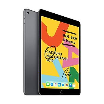 APPLE iPAD 7.NESÝL 128GB Space Gray WiFi MW772TU/A Apple TR Garantili