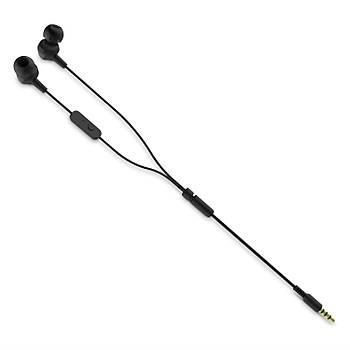 JBL C100SIUBLK Mikrofonlu Kulakiçi Kulaklýk CT IE Siyah