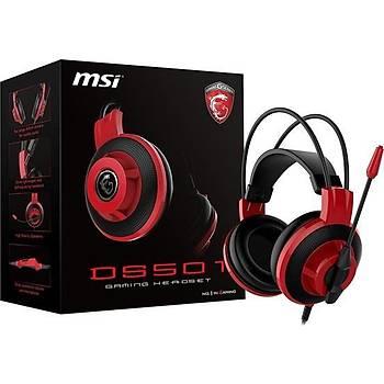 MSI DS501 Oyuncu Kulaküstü Kulaklık