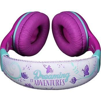 Disney Junior Prenses Sofia Lisanslý Çocuk Kulaklýk DY-10901-SF - Pembe