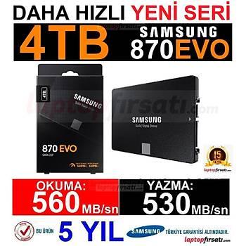 Samsung 870 Evo 4TB 560MB-530MB/s Sata 2.5