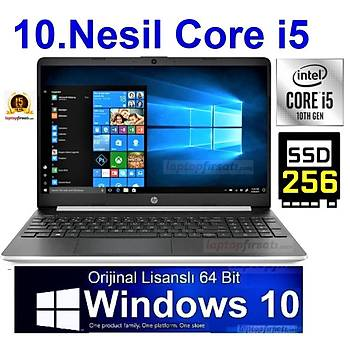 HP 15S-FQ1002NT i5-1035G1 4GB 256SSD Orj. Windows 10 15.6 3L289EA