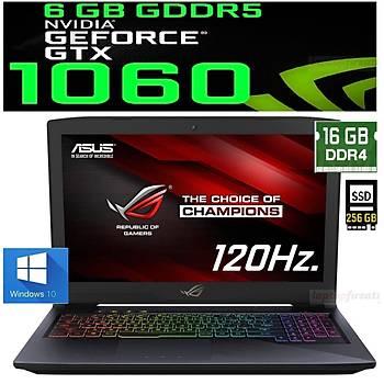 Asus ROG GL503VM-GZ028T i7-7700HQ 16GB 1TB+256SSD GTX1060 6GB 156