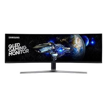 Samsung LC49HG90DMMXUF 49 1ms (2xHDMI+Display+mDisplay) Curved FreeSync 2 HDR600 QLED IPS Oyuncu Monitör