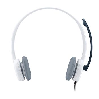 ????Logitech H150 Mikrofonlu Kulaklık/Beyaz 981-000350