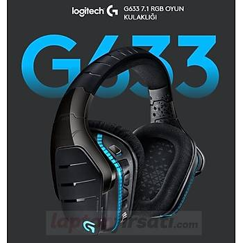 Logitech G633 Artemis 7.1 RGB Oyuncu Kulaklýk 981-000605