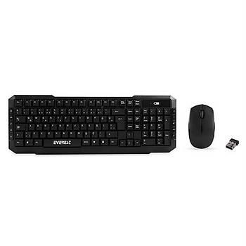 Everest KM-510 KablosuzMultimedia Klavye+Mouse Set
