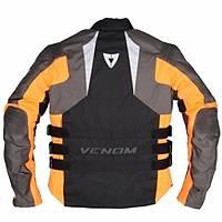 Venom Tourex Touring Motosiklet Montu Siyah-Turuncu