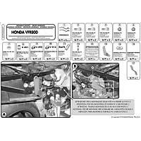 GIVI 257FZ HONDA VFR 800 (98-01) ARKA ÇANTA TAÞIYICI