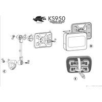 KAPPA KS950 GPS ÇANTASI