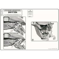 GIVI PLXR691 BMW K 1200R (05-08) - K 1300R (09-16) YAN ÇANTA TAÞIYICI