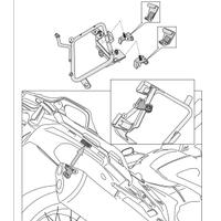 KAPPA KLXR1110 HONDA VFR 1200X CROSSTOURER (12-19) YAN ÇANTA TAÞIYICI
