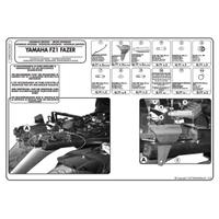 KAPPA KZ359 YAMAHA FZ1 FAZER 1000 (06-15) ARKA ÇANTA TAÞIYICI