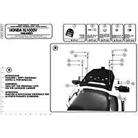 GIVI E212 HONDA XL 1000V VARADERO (99-06) ARKA ÇANTA TAÞIYICI
