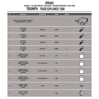 GIVI RP6403 TRIUMPH TIGER EXPLORER 1200 (12-15) KARTER KORUMA