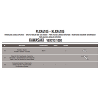 GIVI PLXR4105 KAWASAKI VERSYS 1000 (12-14) YAN ÇANTA TAÞIYICI