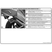 GIVI PLXR450 KAWASAKI VERSYS 650 (10-14) YAN ÇANTA TAÞIYICI
