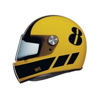 NEXX X.G100 RACER BILLY B SARI-SÝYAH KASK