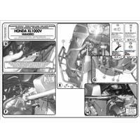 KAPPA KN28 HONDA XL 1000V VARADERO - ABS (03-06) KORUMA DEMÝRÝ