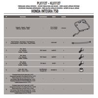 GIVI PLX1127 HONDA INTEGRA 750 (14-15) YAN ÇANTA TAÞIYICI