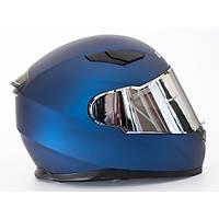 Sway 816 Full Face Mat Mavi Motosiklet Kaský 2021 ÜRETÝM