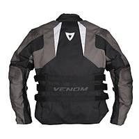 Venom Tourex Touring Motosiklet Montu Siyah Gri