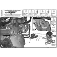 GIVI PLX166 HONDA VFR 800 VTEC (02-11) YAN ÇANTA TAÞIYICI