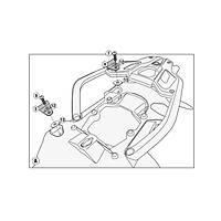 GIVI PLR5108KIT BMW R 1200 GS - R 1200 GS ADVENTURE (13-17) YAN ÇANTA TAÞIYICI BAÐLANTI KÝTÝ