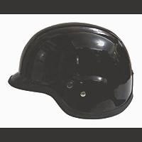 Free-M Motosiklet Nazi Kask Metalik Siyah 209