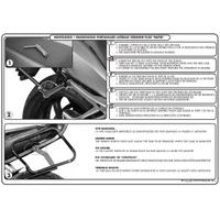 GIVI PLR692 BMW K 1200S (05-08) - K 1300S (09-16) YAN ÇANTA TAÞIYICI