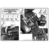 GIVI PLX539 SUZUKI GSF 650-1250 BANDIT (07-11) GSX 650F - 1250F (10-16) YAN ÇANTA TAÞIYICI