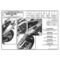 KAPPA KZ166 HONDA VFR 800 VTEC (02-11) ARKA ÇANTA TAÞIYICI