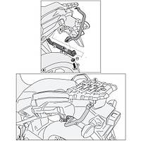 GIVI SRA3105 SUZUKI DL 1000 V-STROM (14-16) ARKA ÇANTA TAÞIYICI