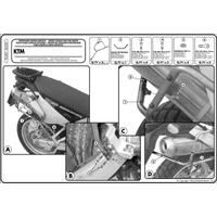KAPPA KL650 KTM ADVENTURE 950-990 (03-14) YAN ÇANTA TAÞIYICI