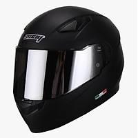 Sway 816 Full Face Mat Siyah Motosiklet Kaský 2021 ÜRETÝM ayna cam vizör