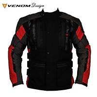 Venom Tourex Touring Motosiklet Montu Siyah Kýrmýzý